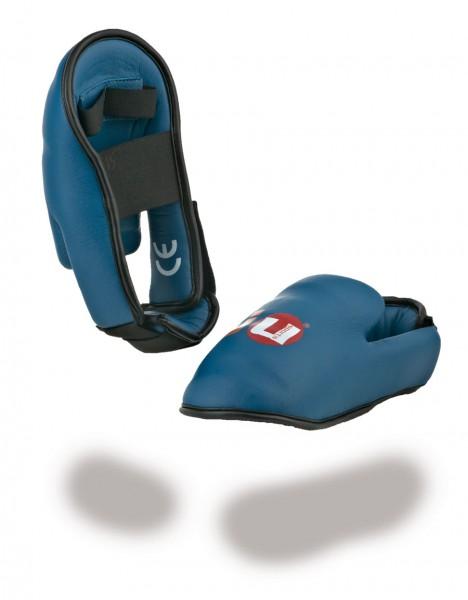 Karatefußschutz blau