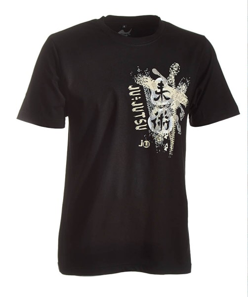 Ju-Jutsu-Shirt Trace schwarz