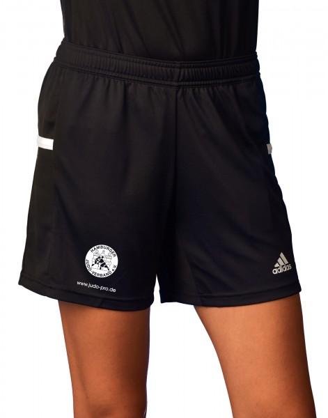 HJV adidas T19 Knee Shorts Damen schwarz/weiß, DW6882