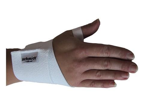 Handgelenkschützer und Handgelenkstütze