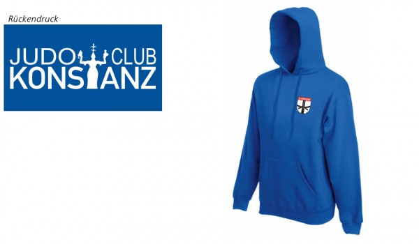 Premium Hooded Sweat JC Konstanz Vereinsedition, Royal Blue, F421N