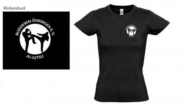 Ladies Basic T-Shirt Imperial Budokwai Öhringen Vereinsedition