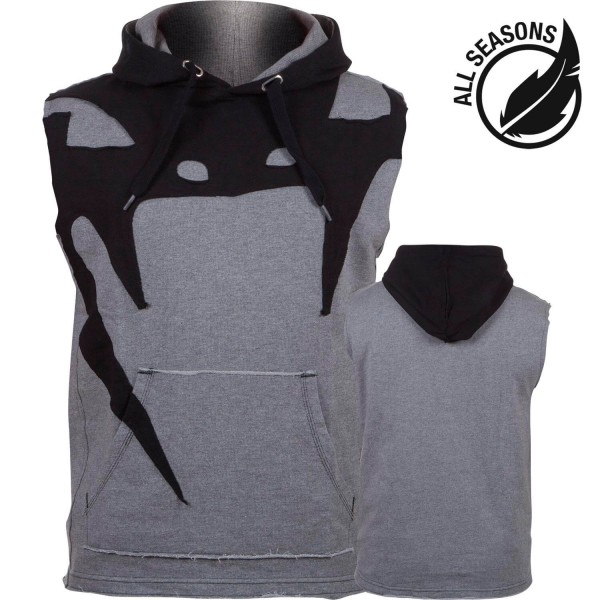 Venum Attack Sleeveless Hoody lite series, 2005 Heather grey