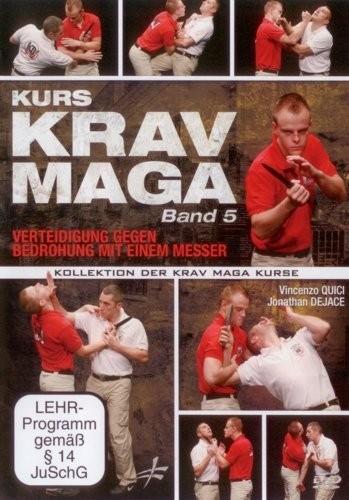 Krav Maga Kurs Band 5 - Verteidigung gegen Messer (311)