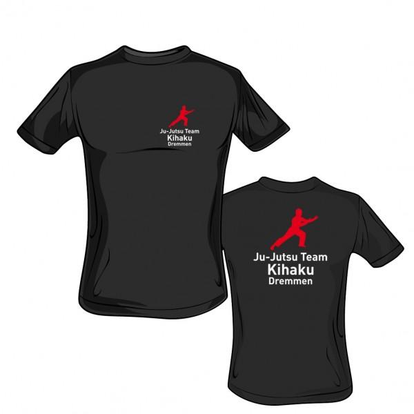 T-Shirt L190 schwarz - Kihaku Dremmen