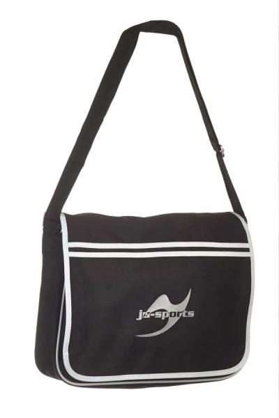 Retro Messenger Bag BG71 schwarz