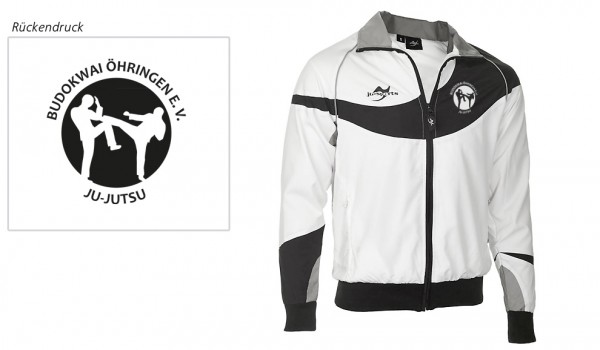 Teamwear Element C1 Jacke weiß Budokwai Öhringen Vereinsedition