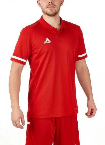 adidas T19 Polo Shirt Männer rot/weiß, DX7266