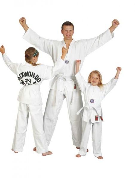 "Taekwondoanzug ""to start"" mit Rückendruck"