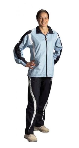 Trainingsanzug Ju-Sports Aragoas sky-blau/navy-blau Lady cut