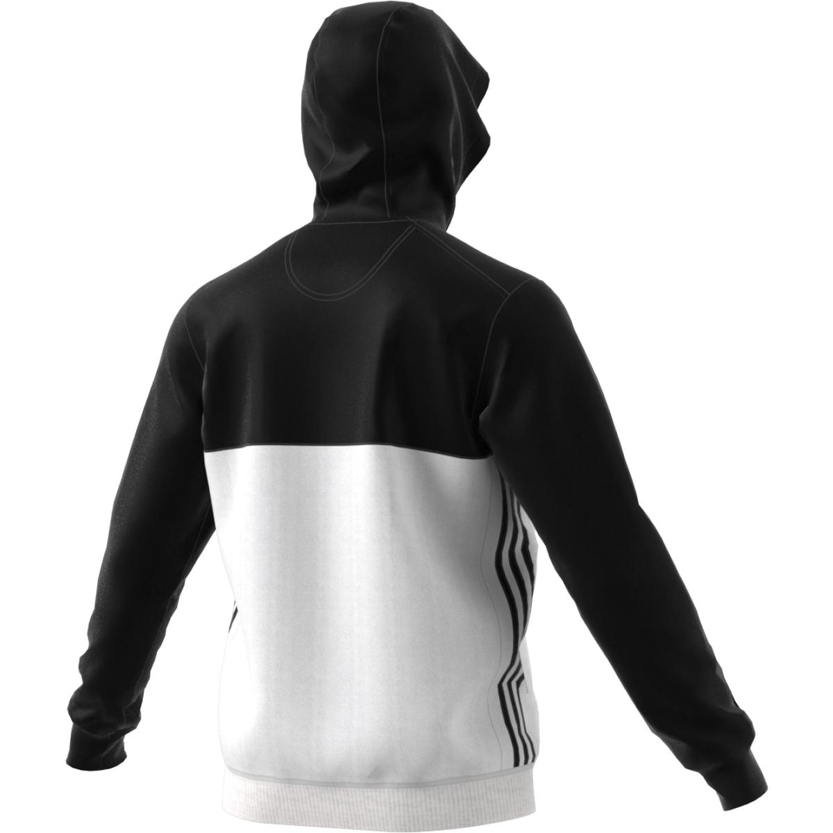 adidas T16 Team Hoodie Männer schwarzweiß AJ5409