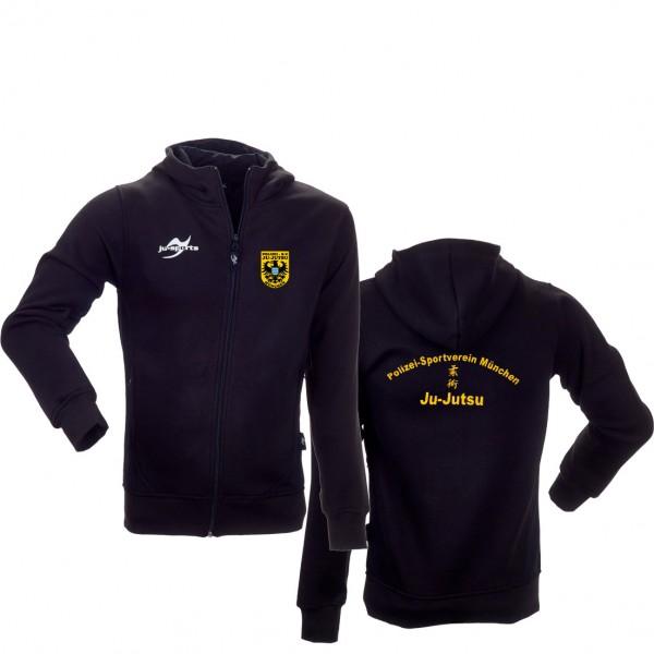 Polizei SV München Teamwear Element Core Zip Hoodie schwarz