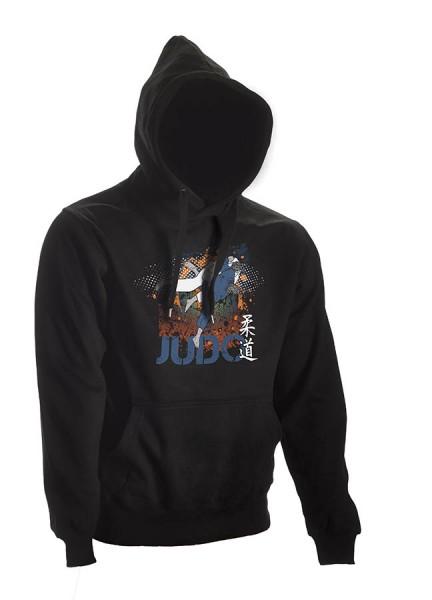 Judo Hoodie All-Japan schwarz