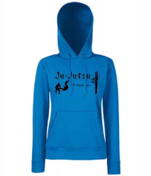 Ladies Classic Hooded Sweat, F409, TV Plochingen Ju-Jutsu, blau