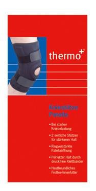 thermo+ Kniestütze mit Patellaöffnung aus Neopren