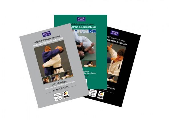 DVD-Set der offiziellen DJB-Lehrserie zum neuen Selbstverteidigungs-Programm
