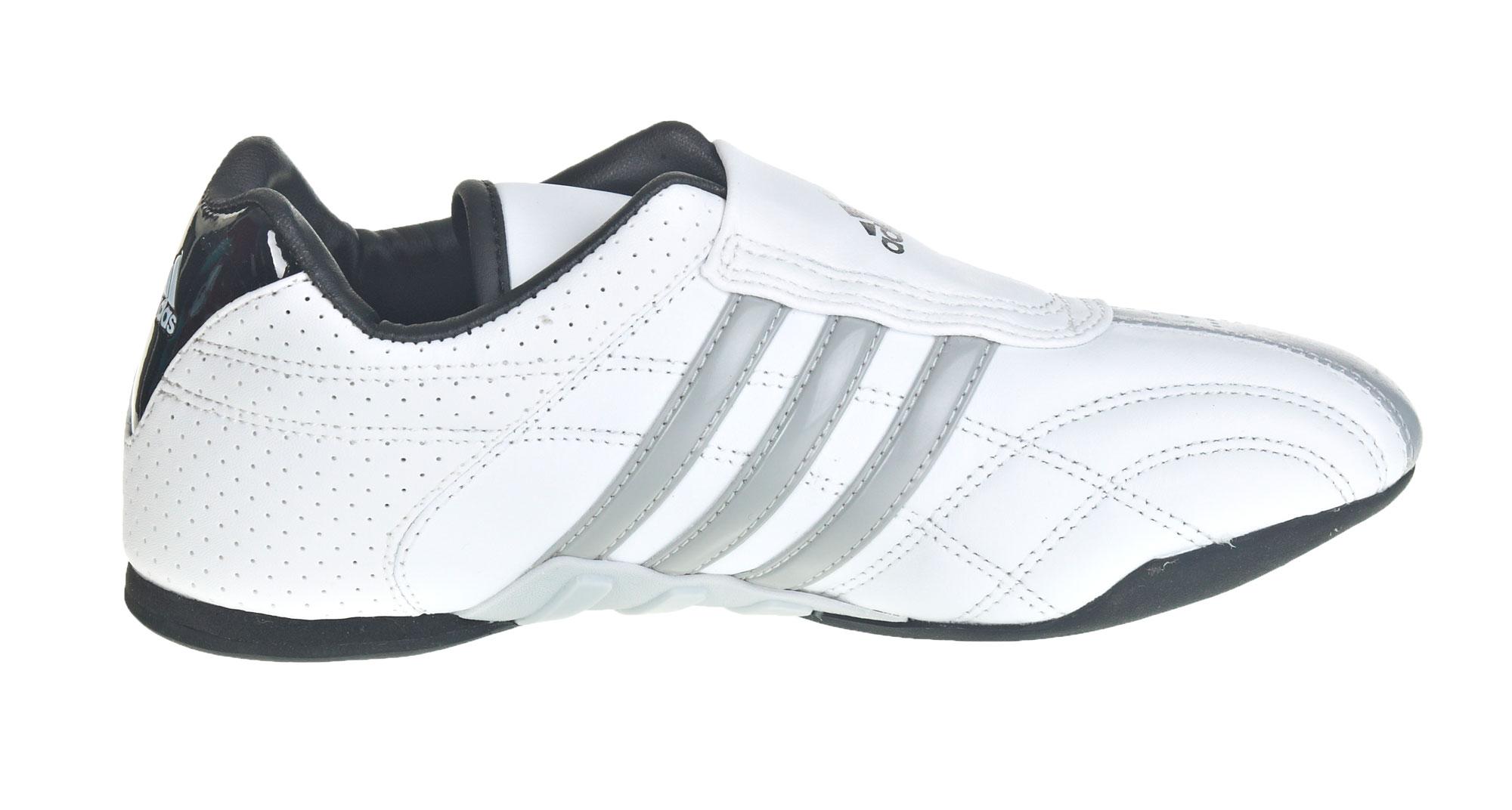 adidas adilux weiß mit grauen Streifen
