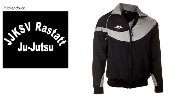 Teamwear Element C1 Jacke schwarz, JJKSV Rastatt, Vereinslogo Ju-Jutsu