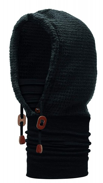 BUFF Polar Thermal Hoodie Solid black, 113178