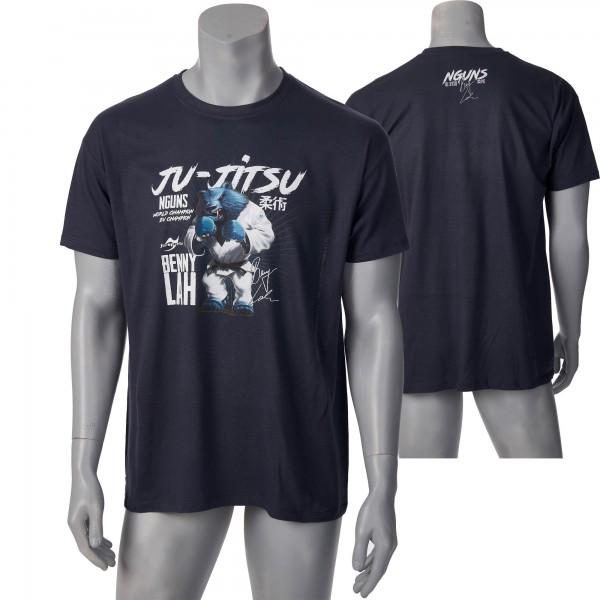 Nguns Benny Lah Ju-Jitsu T-Shirt L150 mouse grey