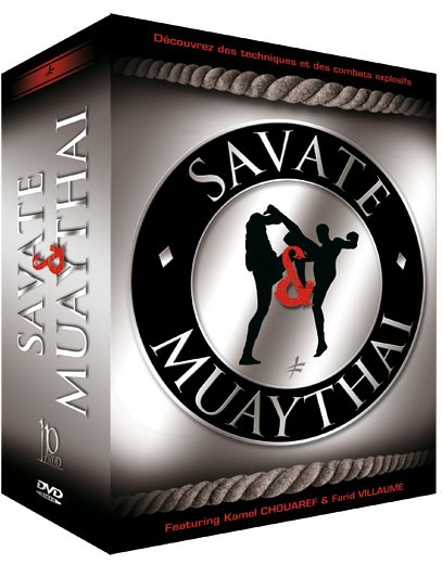 4 DVD Box Savate & Muay Thai
