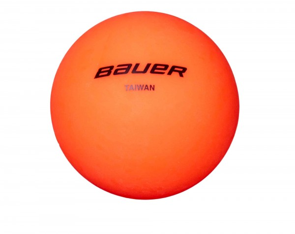 BAUER Hockey Ball warm, orange (1046638)